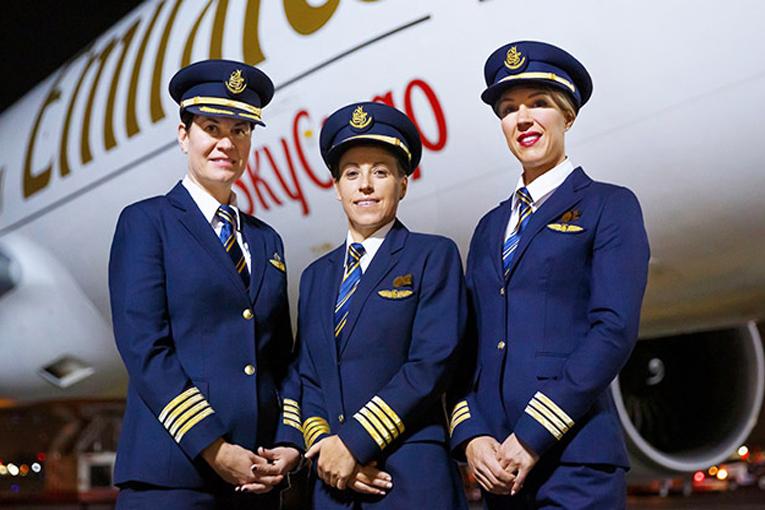 Emirates'ten kadınlar günü kutlaması