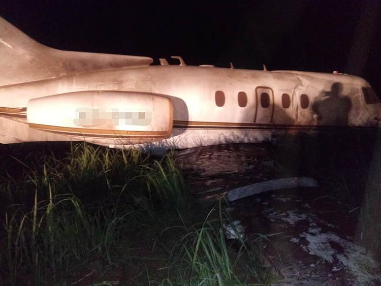 Guatemala'da bir uçak daha boş arazide terk edilmiş halde bulundu