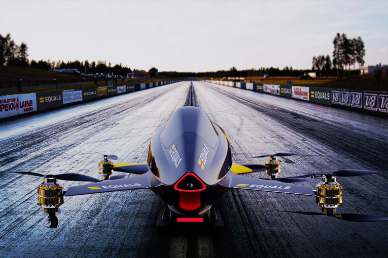 Uçan elektrikli otomobillerin yarışları 2020'de başlayacak