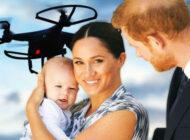 Meghan Markle ve Prens Harry'inbaşı dronelerle dertte