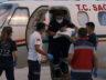 Kalp rahatsızlığı olan bebek ambulans uçakla Ankara'ya getirildi