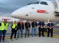 Embraer'in 1600'ncü E190-E2'yi rekor uçuşla teslim etti