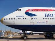BA'nin B747-400'ü film seti oluyor